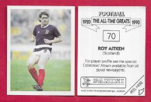 Scotland Roy Aitken Glasgow Celtic 70